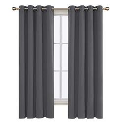 Deconovo Room Darkening Curtains with Grommet Thermal Insula