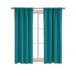 Deconovo Room Darkening Drapes Thermal Insulated Blackout Cu