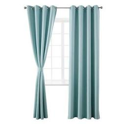Yakamok Room Darkening Thermal Insulated Blackout Curtains f
