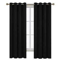 Deconovo Thermal Insulated Grommet Blackout Curtain Panel Fo