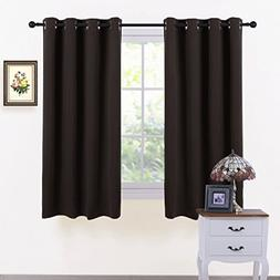 PONY DANCE Window Blackout Curtains - Thermal Insulated Grom