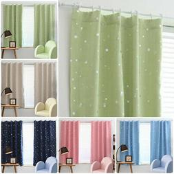 Kids Boy Girls Window Curtains Blackout Room Thermal Insulat