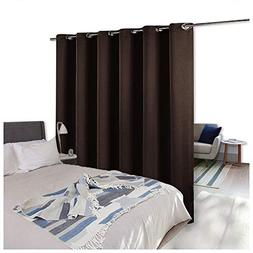 NICETOWN Room Divider Curtain Screen Partitions, Blackout Cu