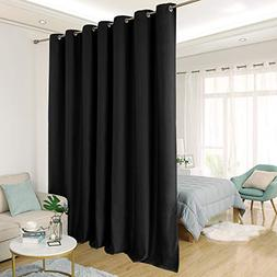 Deconovo Room Divider Curtain Thermal Insulated Blackout Pat