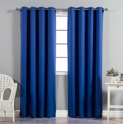 Ruthy's Textile 2- Piece Thermal Blackout Window Curtain Gro
