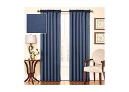 "Eclipse Samara Blackout Energy-Efficient 42""x 63"" Curtain Pa"