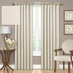 "Eclipse Samara Ivory Blackout Curtain Panel 42"" X 84"" Therma"