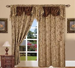 Set Of 2 Window Curtains Curtain Panels Drapes For Living Ro