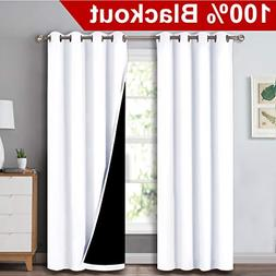 NICETOWN Full Shading Curtains for Windows, Super Heavy-Duty