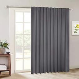 NICETOWN Sliding Door Curtains, Wide Thermal Blackout Patio