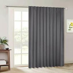 Nicetown Sliding Door Curtains Wide Thermal Blackout Patio D