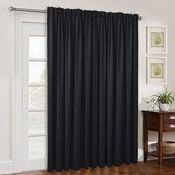 NICETOWN Sliding Glass Door Wide Curtain, Window Treatments
