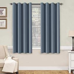 H.VERSAILTEX Soft and Smooth Blackout Window Curtain Panel,8
