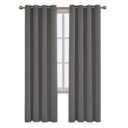 Deconovo Soild Home Thermal Insulated Blackout Window Curtai