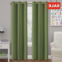 Blackout Curtains Panels for Bedroom - Three Pass Microfiber