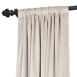 ChadMade Solid Matt Luxury Heavyweight Velvet Curtain Drape