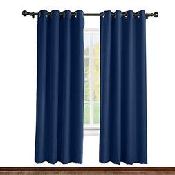 ChadMade Solid Thermal Insulated Blackout Curtain Drape Anti