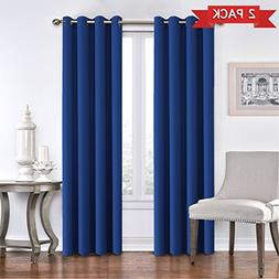Blackout Curtains Panels for Patio Door - Energy Saving Ther