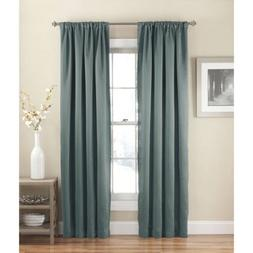 Eclipse Solid Thermapanel Room-Darkening Curtain Panel, Rive
