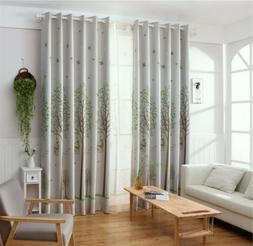 Sun Insulation Curtains Pattern Curtains Polyester Blackout