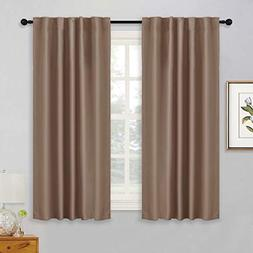 RYB HOME Kitchen Blackout Curtain Shades Panels Window Drape