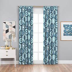 Eclipse Suzi Thermaback Blackout Window Curtain, 42 x 84, Po