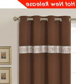 """SWEET DREAM Thermal Insulated Blackout Panel Curtain 52x63""""x"""