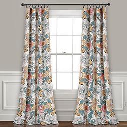 Lush Decor Syndney Room Darkening Window Curtain Panel Pair,