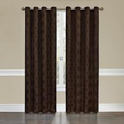 Eclipse Tatum Grommet Blackout Curtain Panel, 95-Inch, Espre