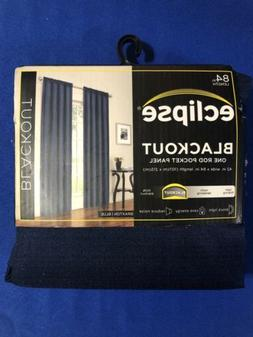 Eclipse Thermaback Total Blackout Curtain, One Braxton Panel