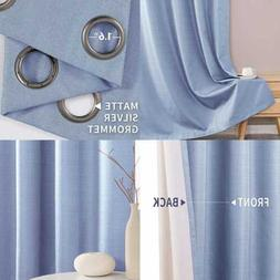thermal insulated blackout curtain bedroom