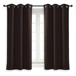 NICETOWN Thermal Insulated Blackout Curtain and Drapery Trip