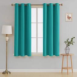 Deconovo Thermal Insulated Blackout Curtains for Bedroom Dar
