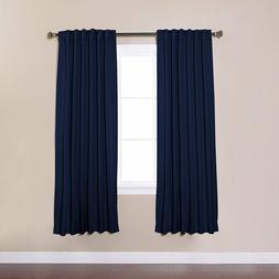 Best Home Fashion Basic Thermal Insulated Blackout Curtains
