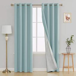 thermal insulated blackout curtains kitchen