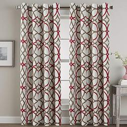Thermal Insulated Blackout Curtains Living Room/Dining Room