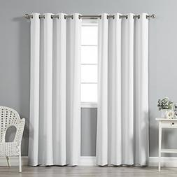 Best Home Fashion Thermal Insulated Blackout Curtains-Stainl