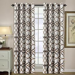 H.VERSAILTEX Thermal Insulated Blackout Grommet Curtain Drap
