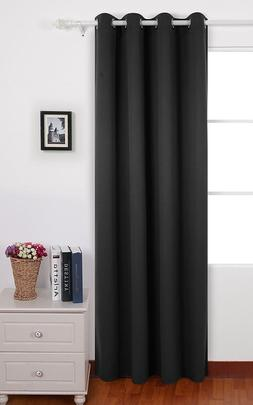"""Thermal Insulated Blackout Window Curtain for Bedroom 52x63"""""""