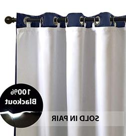 DriftAway Thermal Insulated 100% Darkening, Blackout Curtain