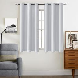 Thermal Insulated Grommet Blackout Curtains for Bedroom 2 Pa