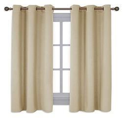 NICETOWN Thermal Insulated Grommet Room Darkening Curtains/D