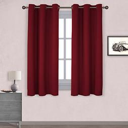 Thermal Insulated Solid Grommet Blackout Curtains/Drapes for