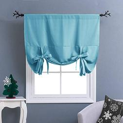 NICETOWN Tie-Up Shade for Small Window - Window Treatment En