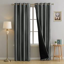 total blackout curtains grommet thermal
