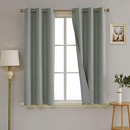 Deconovo Total Blackout Curtains with 3 Pass Energy Efficien