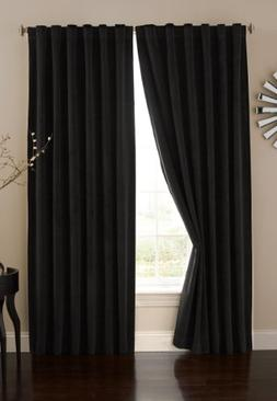 Absolute Zero Velvet Blackout Home Theater Curtain Panel, 84