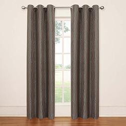 Eclipse Tremont Blackout Grommet Window Panel, Toffee