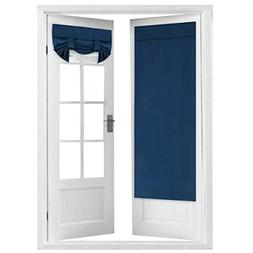 Flamingo P Tricia Window Door Curtains, Navy Blackout Curtai