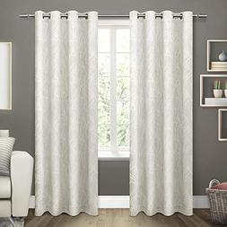 Exclusive Home Curtains Twig Insulated Woven Blackout Gromme